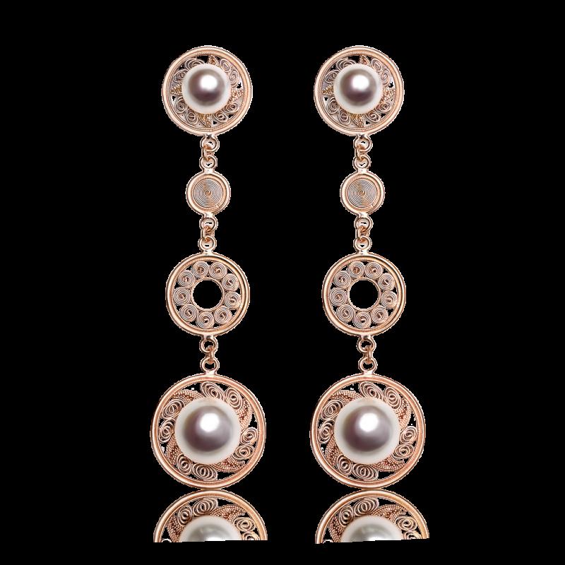 rose-gold-pearl-earrings