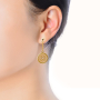 earring model 3_gold