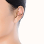 model_rose gold ear clip
