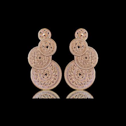 耳环3-玫瑰金色