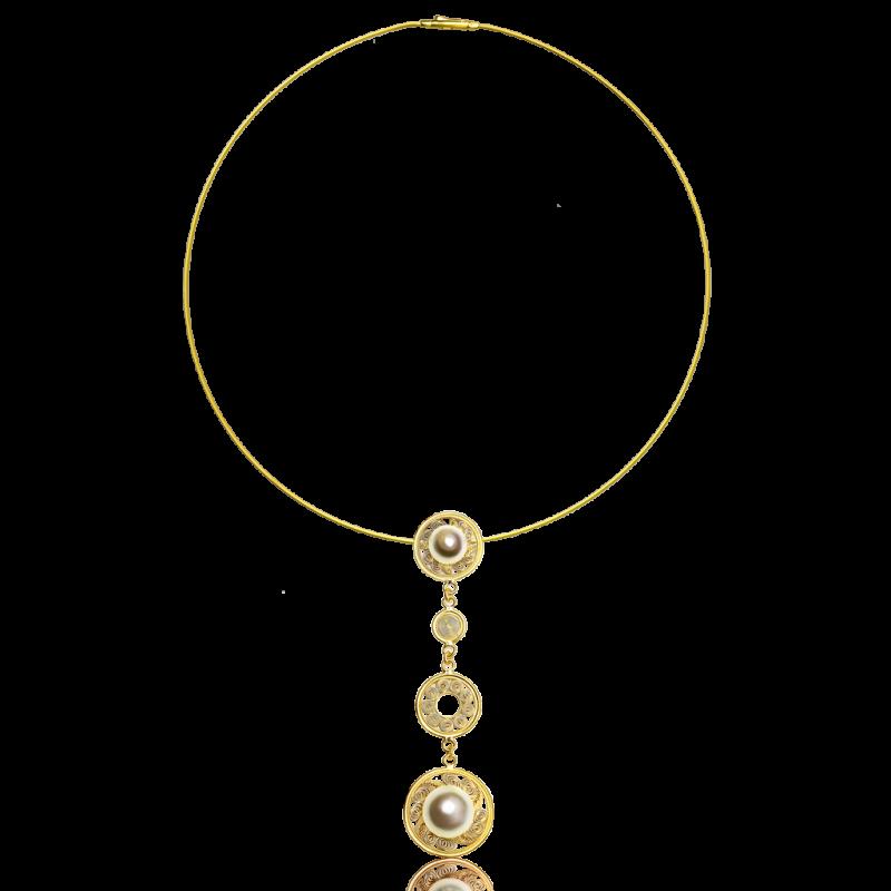 Bronze Era_gold pendant